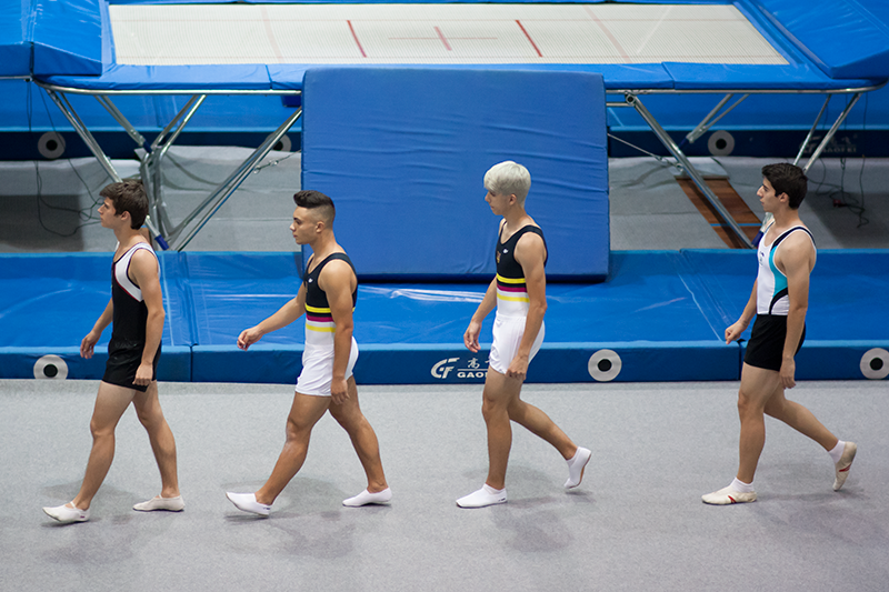 SCALABISCUP gymnasts