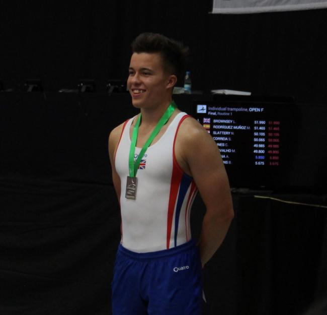 Oxford Mail: GYMNASTICS: Ben Goodall wins two medals at Scalabis Cup