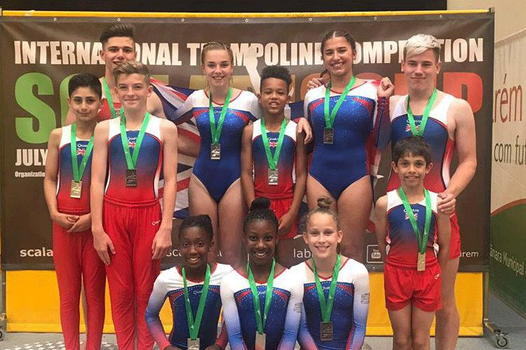 British Gymnastics: Scalabis Cup success for Great Britain