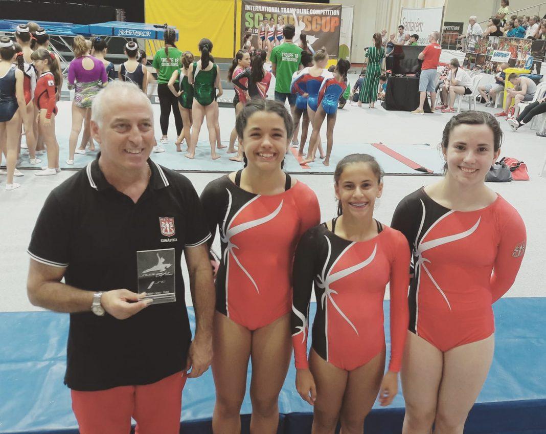 Torres Vedras Web: Física alcança 1º lugar por equipas na VII edição da Scalabis Cup Internacional em Trampolins